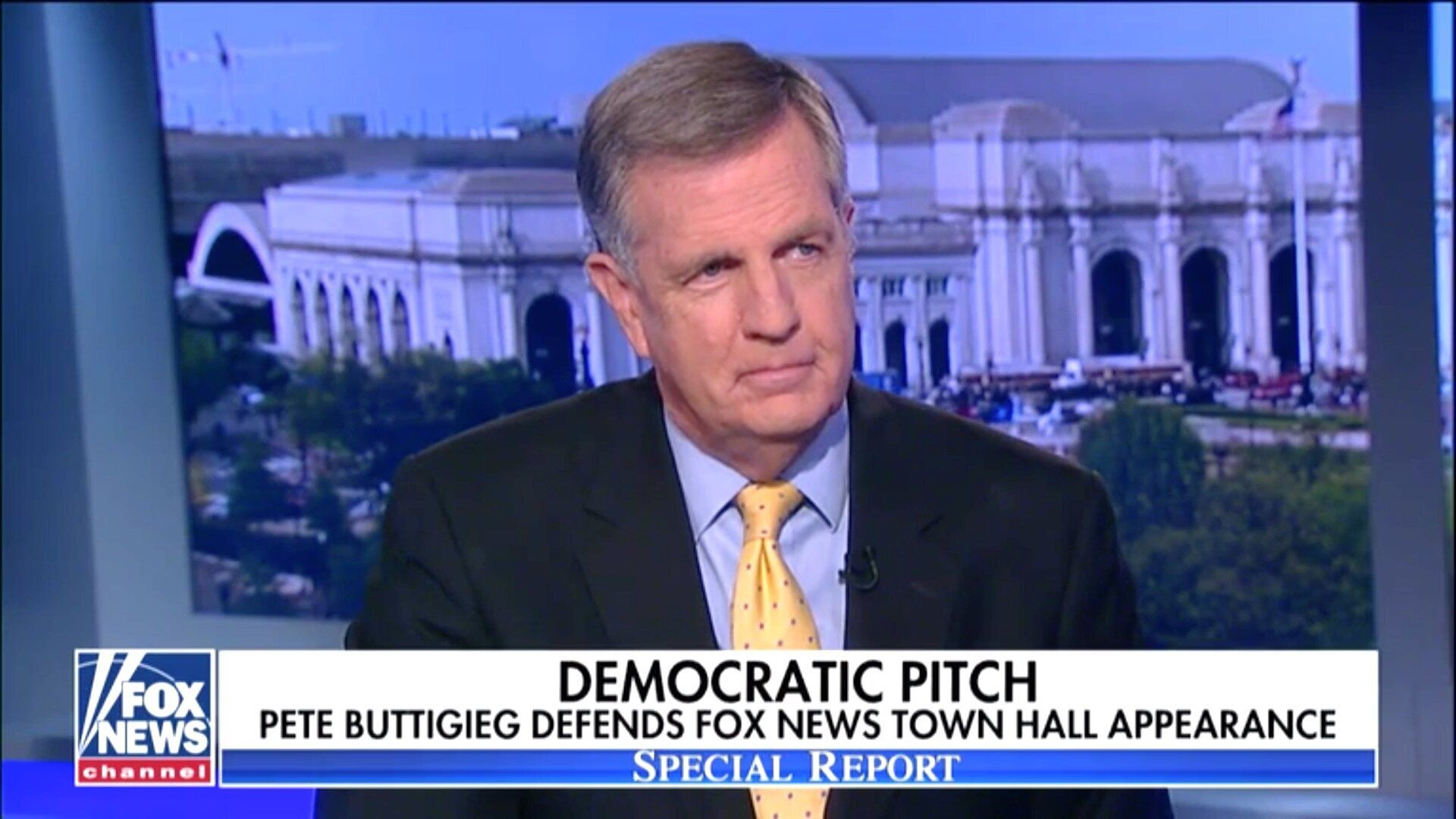Brit Hume Slams Trump, Praises Democrat Pete Buttigieg's 'Raw Political Talent'