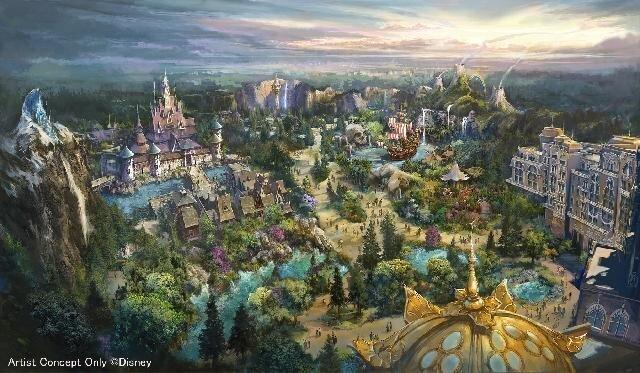「ファンタジースプリングス」とは?東京ディズニーシーの新エリアの名称が決定。