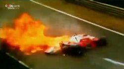 L'incidente del 1976 a cui Niki Lauda sopravvisse, sfigurato in