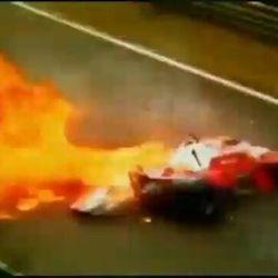 NURBURGRING 1976 - L'incidente a cui Niki Lauda sopravvisse, sfigurato in