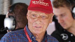 Muere el tres veces campeón del mundo de F1, Niki