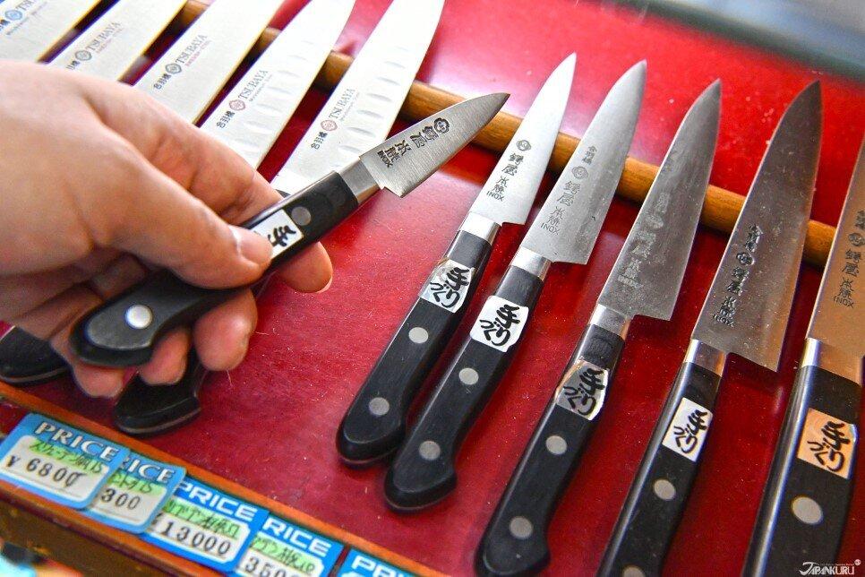 水果或小食物的專用刀:Petty knife