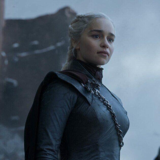 Emilia played Daenerys Targaryen in the HBO series