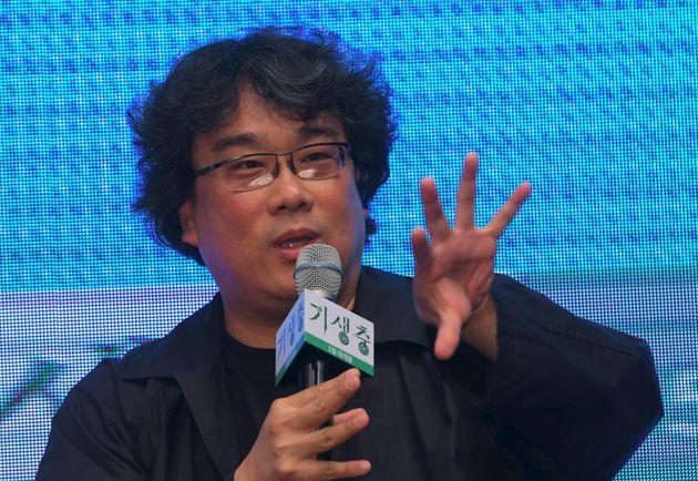 봉준호 감독이 '기생충' 촬영 당시 '블루스크린'를 많이 쓴 이유