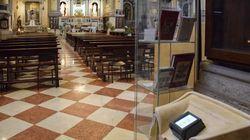 In chiesa l'elemosina ora si fa con il pos. E si può anche detrarre dalle