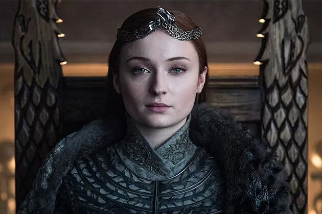 Sophie played Sansa Stark on Game Of