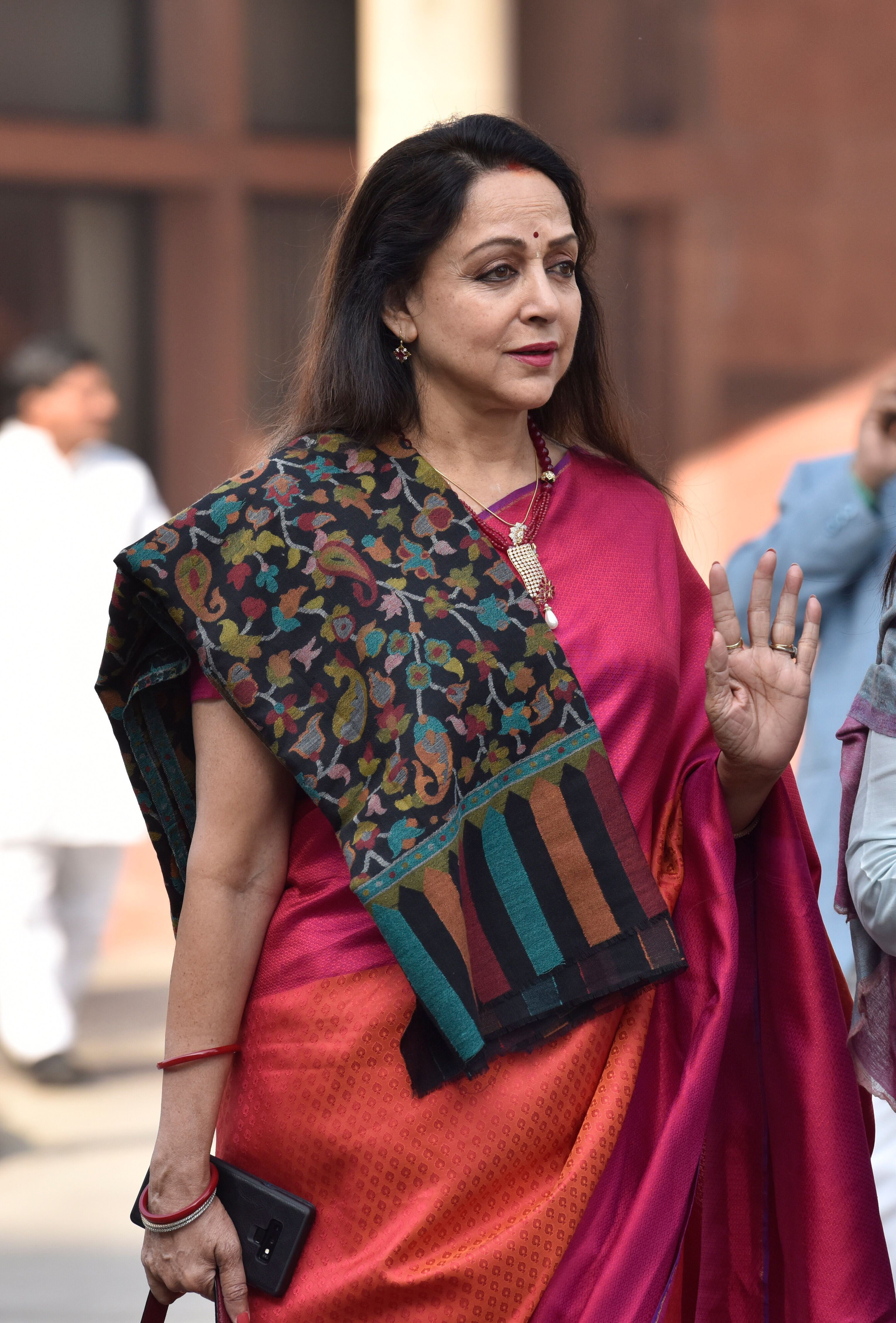 Hema Malini Leading In Mathura Lok Sabha