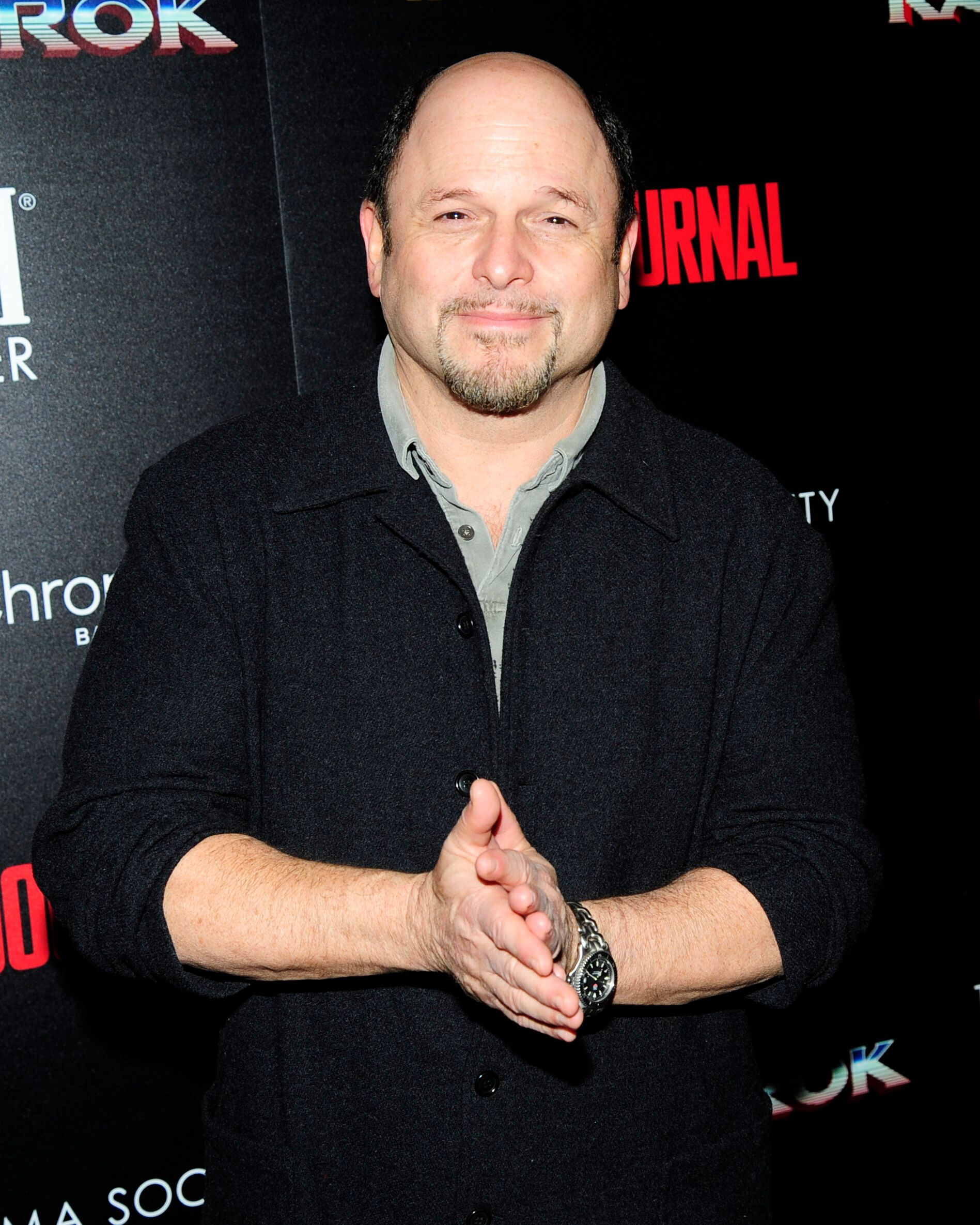 "NEW YORK, NY - OCTOBER 30:  Jason Alexander attends The Cinema Society with FIJI Water, Men's Journal, and Synchrony host a screening of Marvel Studios' ""Thor: Ragnarok"" at the Whitby Hotel on October 30, 2017 in New York City.  (Photo by Paul Bruinooge/Patrick McMullan via Getty Images)"