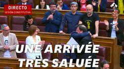 Des indépendantistes catalans sortis de prison pour prêter serment au
