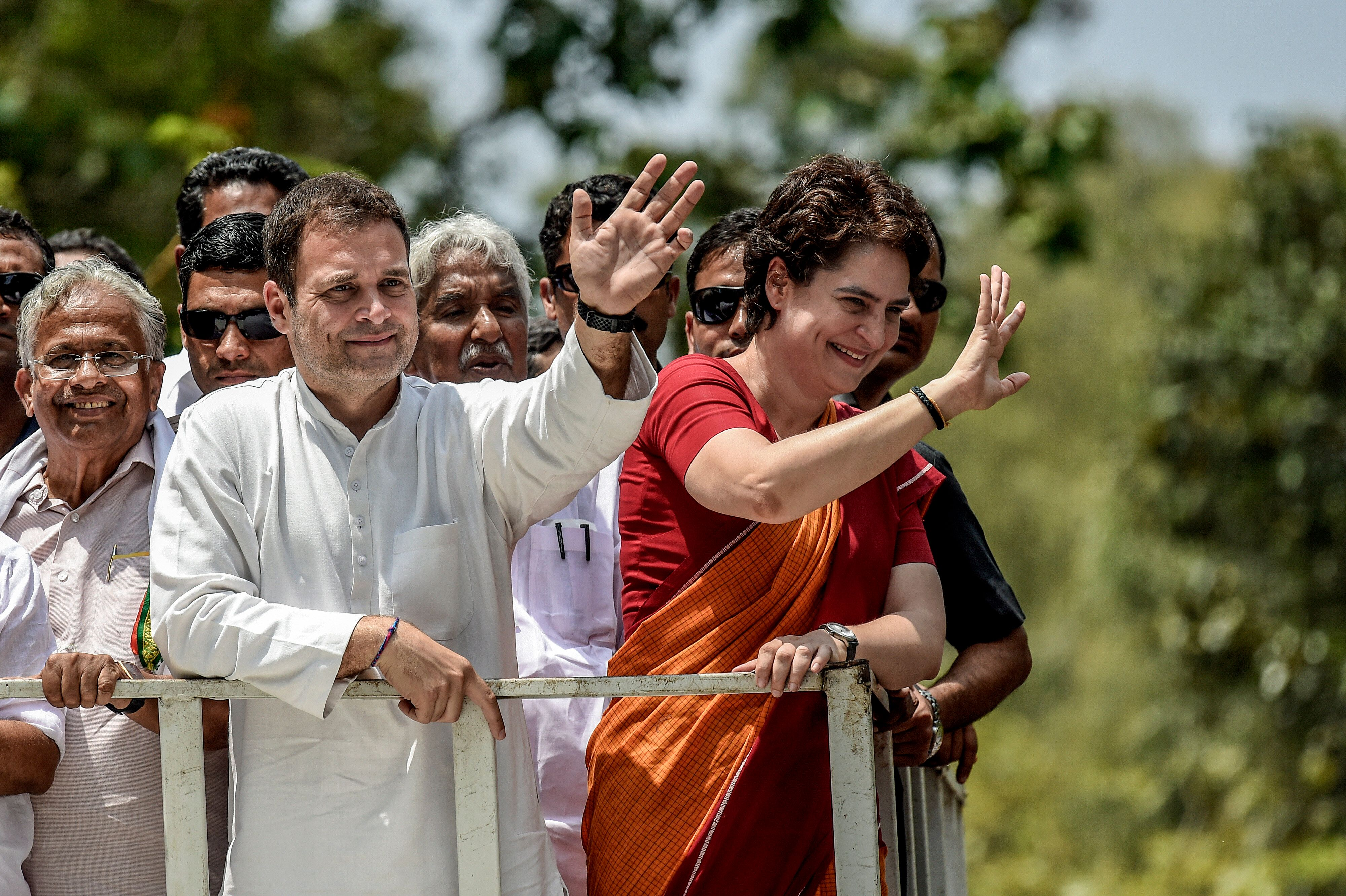 Rahul Gandhi Set For Win From Kerala's Wayanad, Leads By Over 4 Lakh