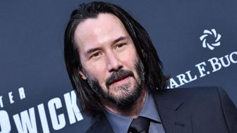 "HOLLYWOOD, CALIFORNIA - MAY 15: Keanu Reeves attends the special screening of Lionsgate's ""John Wick: Chapter 3 - Parabellum"" at TCL Chinese Theatre on May 15, 2019 in Hollywood, California. (Photo by Axelle/Bauer-Griffin/FilmMagic)"