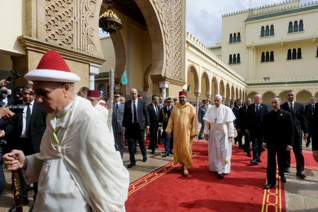 Le pape François a rencontré le roi Mohammed VI le 30