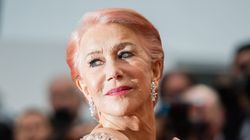 Helen Mirren sul red carpet di Cannes in total pink dimostra che è sempre lei