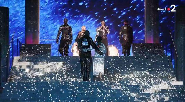 Eurovision: Une danseuse de Madonna interrogée en Israël pour avoir porté le drapeau palestinien sur