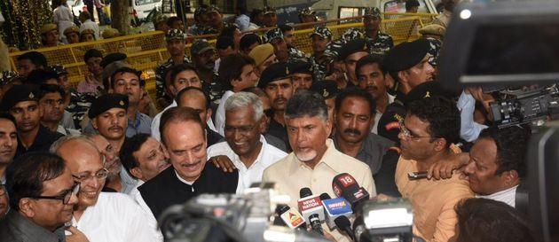 Opposition Leaders Meet EC, Demand Verification Of VVPAT Slips Before