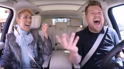 Céline Dion divertissante à souhait dans le Carpool Karaoke de James