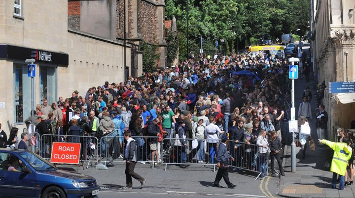 More than 300,000 people attended the free-to-enter Banksy vs. Bristol Museum show.