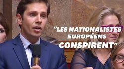 Cette question d'un député LREM sur Bannon et les européennes a enflammé