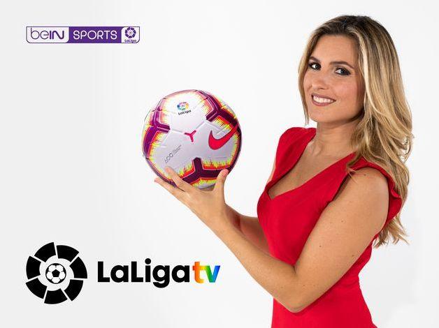 Danae Boronat, primera mujer en narrar en la tele un partido de Primera: