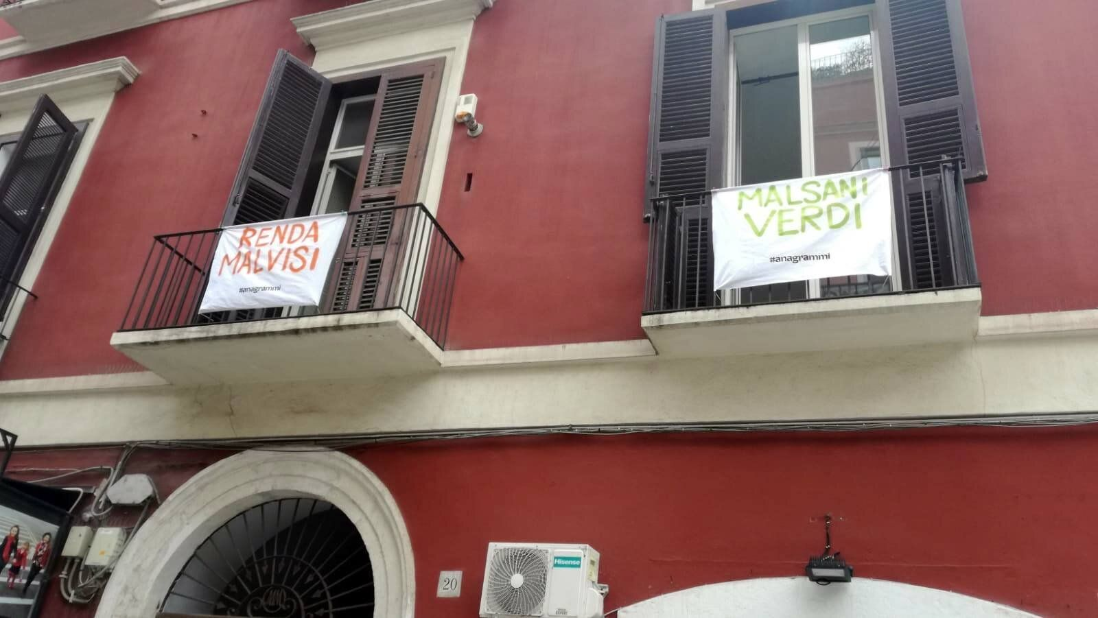 Anagrammi contro Salvini: la trovata a Bari per non farsi se