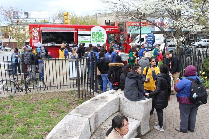 The Fresh Food Generation food truck benefited from $5,000 in loans from the Ujima Project.