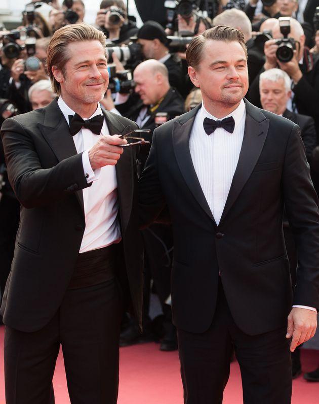 Leonardo DiCaprio plays aging Western TV star Rick Dalton in