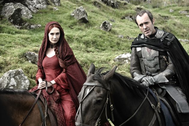 Stannis' sigil can be seen on his