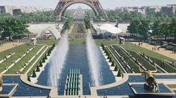 En 2024, un grand jardin reliera le Trocadéro à la tour