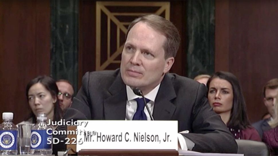 Howard Nielson once argued that a gay judge should have recused himself from a case relating to same-sex marriage because he