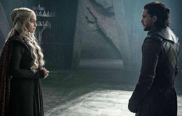Jon Nieve y Daenerys