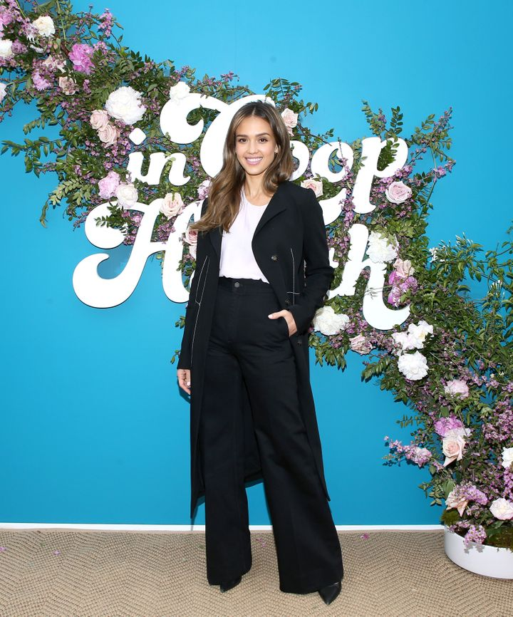 "Alba attends the ""In Goop Health"" summit at Rolling Greens Nursery on May 18 in Los Angeles."