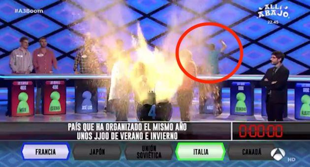 El polémico gesto de un miembro de 'Los Lobos' en 'Boom' (Antena 3) que cabrea a