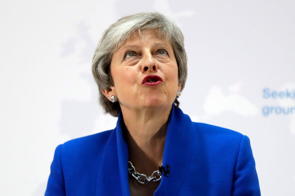 How Theresa May's Frankenstein Brexit Deal Twitched And Gasped Its Last Breath