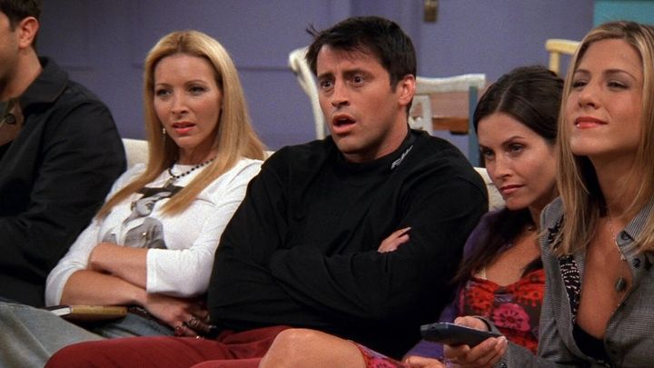 """Friends"" on Netflix."