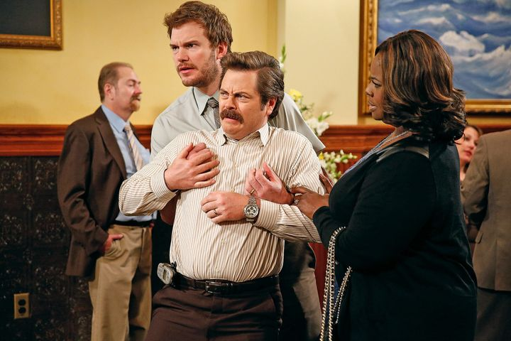 """Parks and Recreation"" on Netflix."