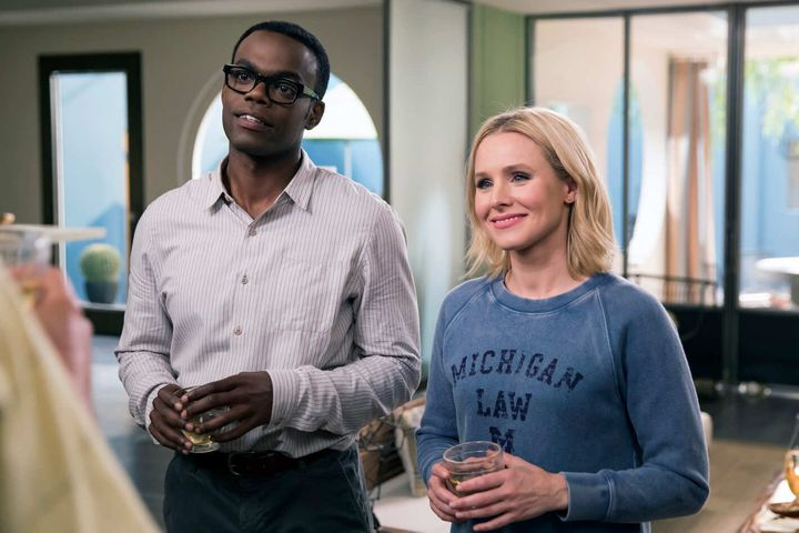 """The Good Place"" on NBC."