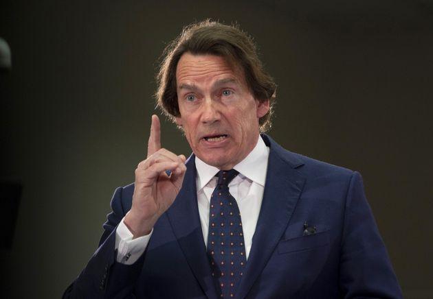 Pierre Karl Péladeau, lobbyiste d'un jour pour rencontrer
