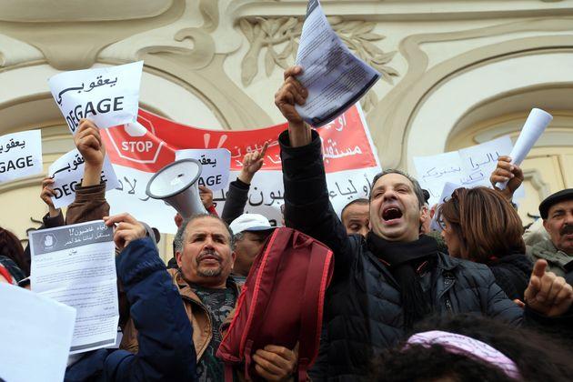 Régression du nombre des mouvements de protestation en Tunisie durant le premier trimestre de l'année