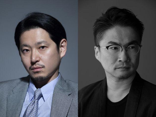 手塚マキさん(左)、乙武洋匡さん(右)