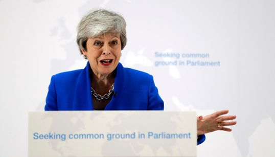 Theresa May's Frankenstein Brexit Deal Gasps Its Last