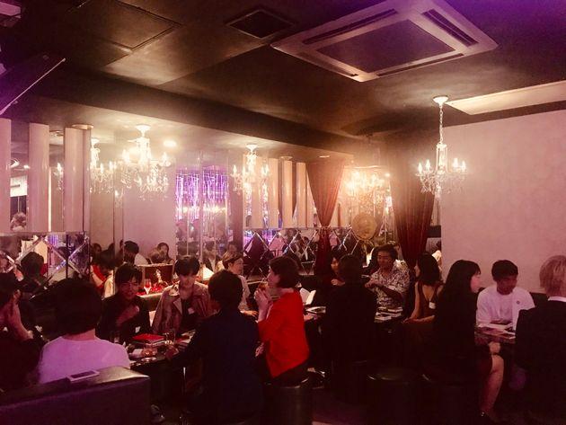 5月17日に行われた「歌舞伎町ホストクラブで読書会