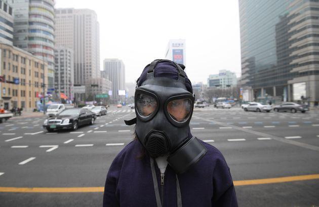 깨끗한 공기를 호흡할