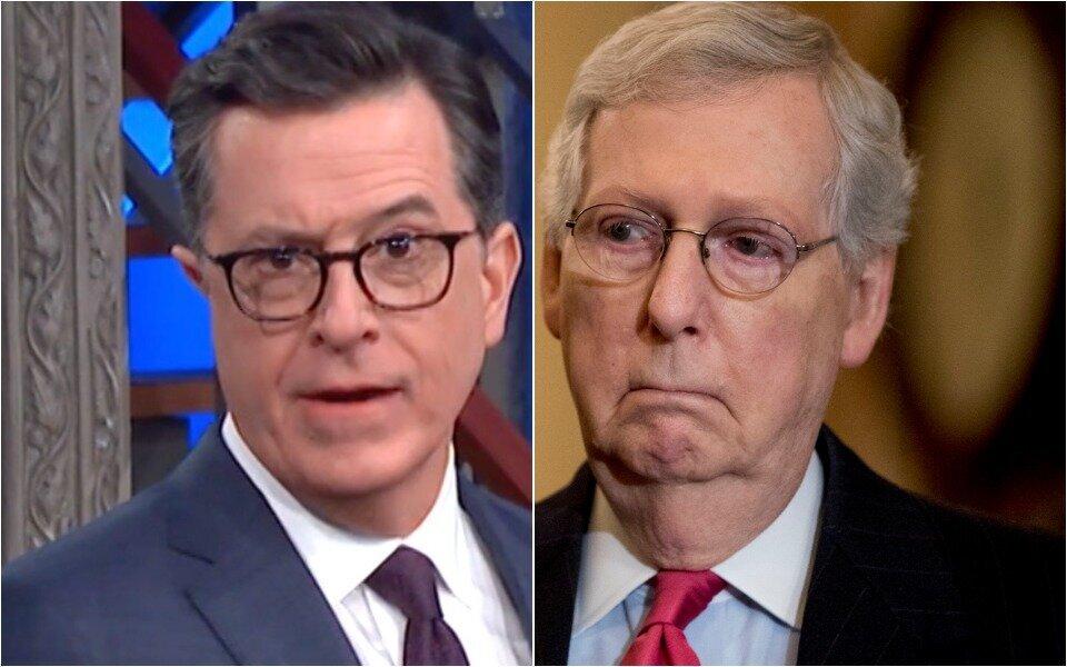 Stephen Colbert, Mitch McConnell