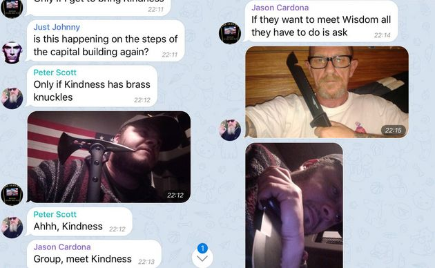 Leaked Proud Boys Chats Show Members Plotting Violence At