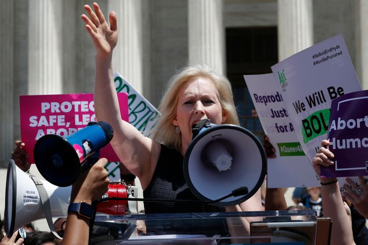 "Sen. Kirsten Gillibrand (D-N.Y.) made a sweeping promise if she's elected president to push an ambitious ""Family Bill of Righ"