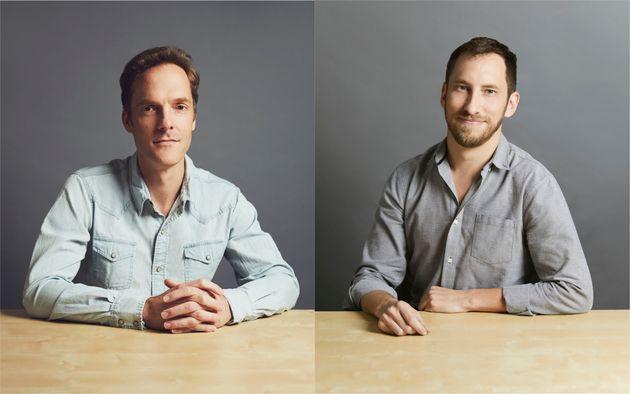쥴랩스 창립자 아담 보웬(왼쪽) 제임스