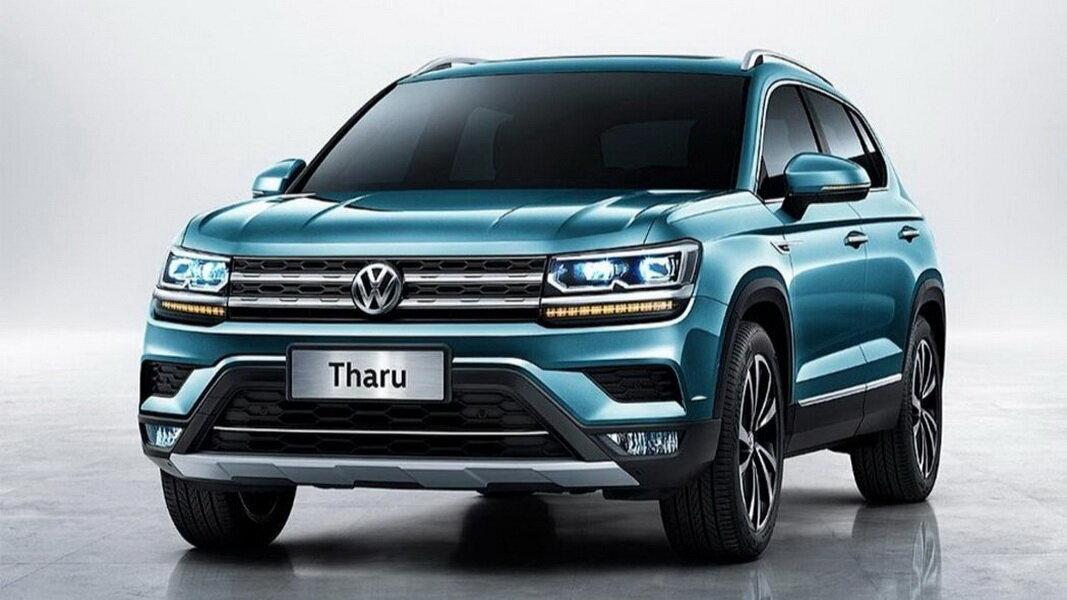 圖 / Volkswagen Tarek可能就是中國版本的Tharu,但無論外觀或內裝細節,應該會與中國版本做出差異。