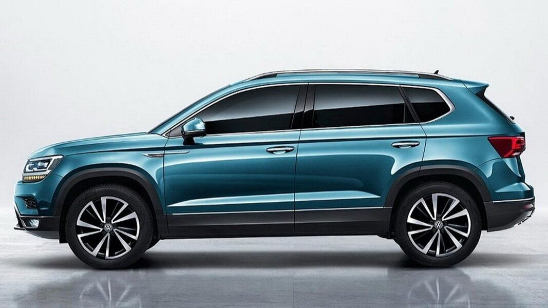 圖 / Volkswagen Tarek將以MQB平台打造,車身長度為175.3英寸、約為445.2cm。