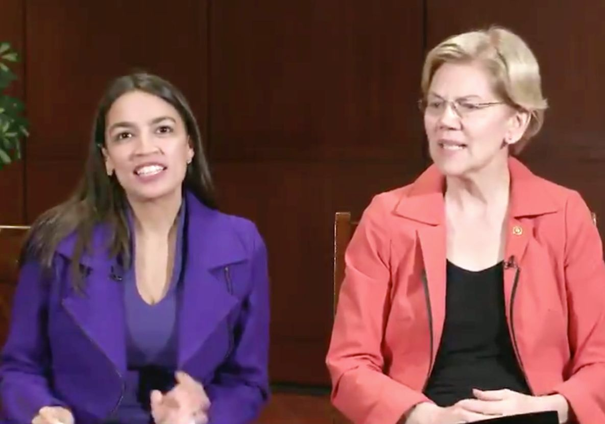 AOC and Elizabeth Warren