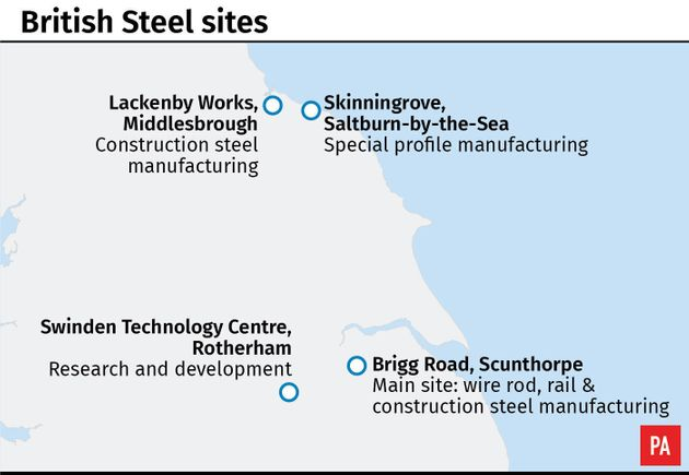 British Steel Enters Insolvency, Putting 25,000 Jobs At